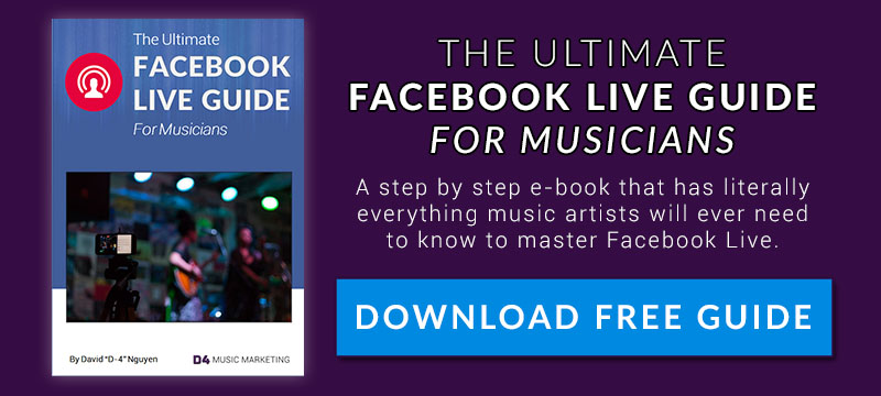 Facebook Live Guide for Musicians