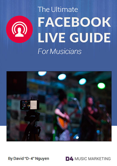 Facebook Live for Musicians Cover