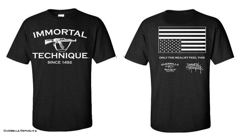 Immortal Technique tee