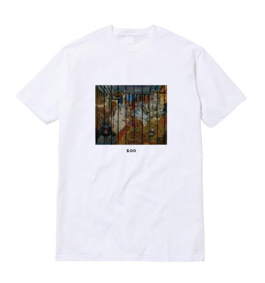 Russ Zoo Cover tee