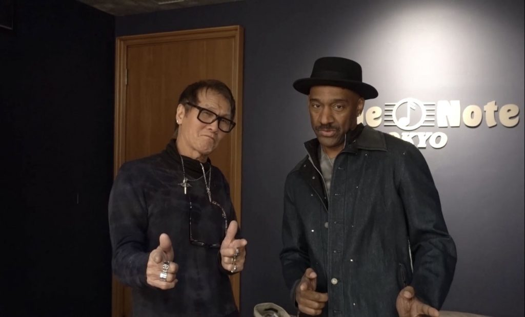 Marcus Miller and Kohshin Sotoh