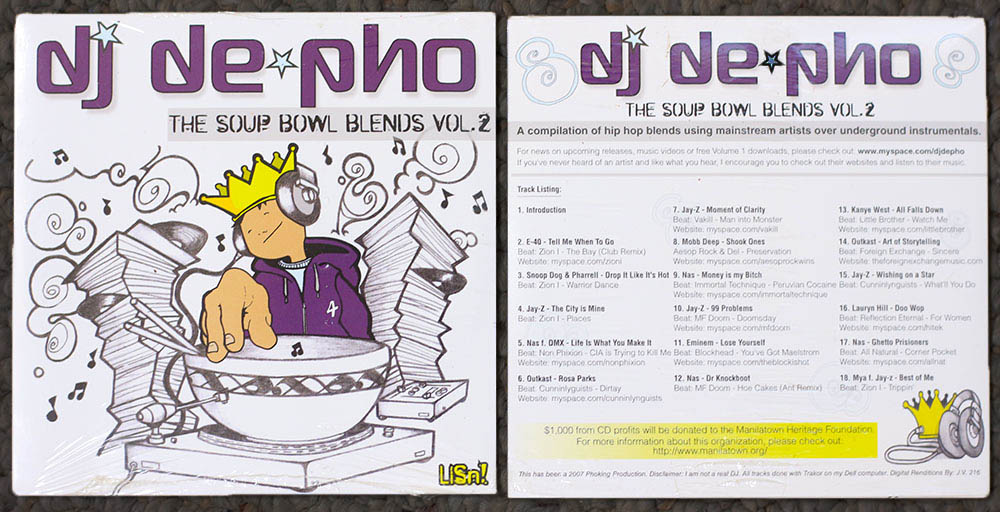 Dj De-Pho CD