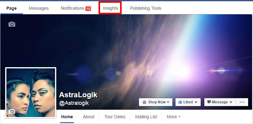 Facebook Insights Top