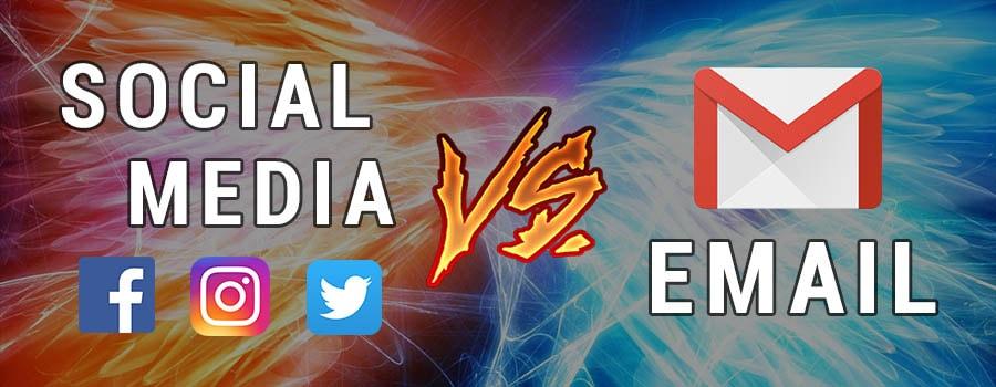 Social Media vs. Email