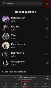 Spotify Scanner