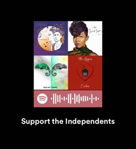 Support the Independents Spotify Code