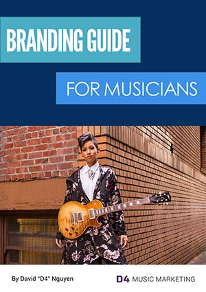 Branding Guide for Musicians Cover