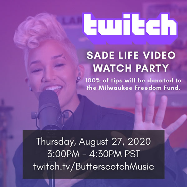 Twitch Watch Party Flyer