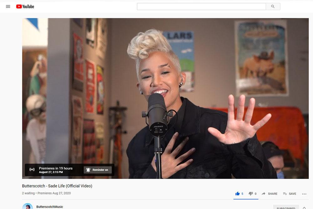 YouTube Video Premiere