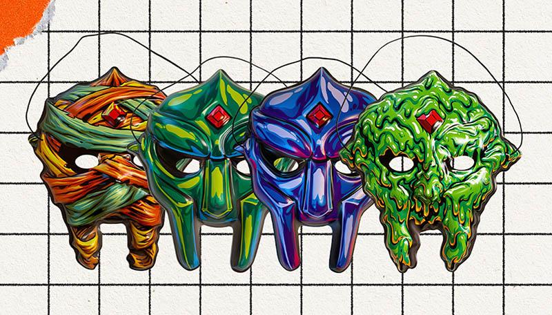 MF DOOM collectible masks
